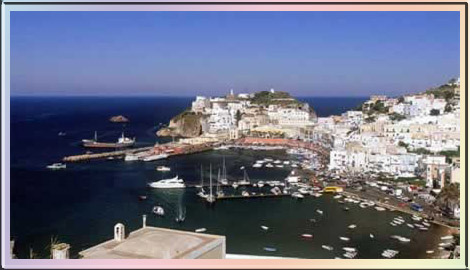 Ponza, my father's birthplace